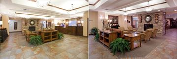 Lobby and Lobby Lounge at Holiday Inn Express & Suites Page Lake Powell
