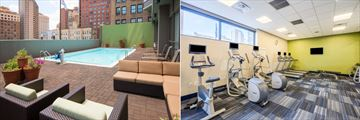 Pool and Fitness Centre at Holiday Inn Express Philadelphia Midtown Hotel