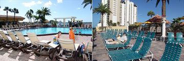 Pool and Lower Pool Deck at Holiday Inn Hotel & Suites Clearwater Beach