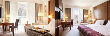 Classic Room and Superior Room at Hotel Croatia