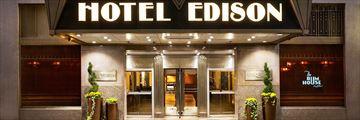 Edison Hotel Entrance