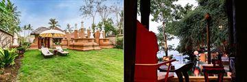 Sanghyang Djiwo (left), and Shang Hyang Jagatnata (right) at Hotel Tugu Lombok