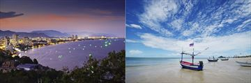 Hua Hin Coastline & Beachfront