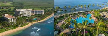 Hyatt Regency Maui Resort & Spa, Aerial View of Resort and Pool