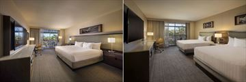 Hyatt Regency Scottsdale Resort & Spa at Gainey Ranch. One King Bedroom and Two Queen Beds Room