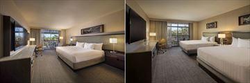 Hyatt Regency Scottsdale Resort & Spa at Gainey Ranch. One King Bedroom and Two Queen Beds Room