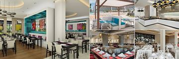 Some of the Dining Options at Iberostar Bella Vista