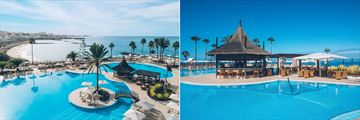 Main pool and Zumeria Pool Bar at Iberostar Selection Anthelia