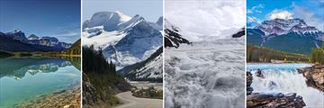 Icefields Parkway, Columbia Icefield & Athabasca Waterfall in Jasper