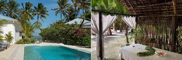Pool and Spa Treatment at Indigo Beach Zanzibar