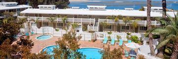 Heated Outside Pool and Jacuzzi, Inn at Morro Bay Hotel