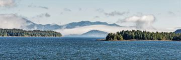 Beautiful scenery of the Inside Passage