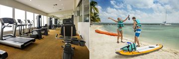 Isla Mujeres Palace, Gym, Beach and Water Activities