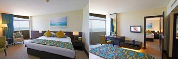 JA Jebel Ali Beach Hotel, Family Sea View Room