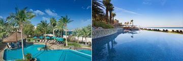 JA Palm Tree Court Hotel, Lá Fontana Pool and Beach and Pool