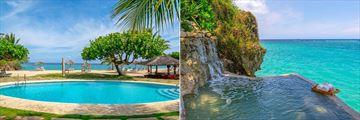 Pool views at Jamaica Inn