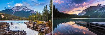 Athabasca landscapes & Maligne Lake, Jasper