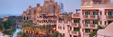 Jumeirah Al Qasr, Madinat Jumeirah, Exterior and Waterways