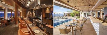 Hashi and Fiamma at JW Marriott Maldives Resort & Spa