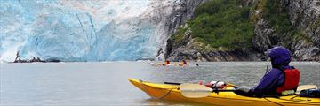 Kayaking in Blackstone Bay, Alaska
