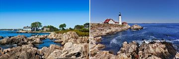 Kennebunkport & Portland coastlines