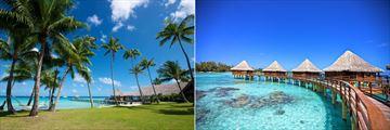 Kia Ora Resort & Spa, Gardens and Overwater Villas