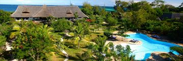 Kinondo Kwetu, Aerial View of Resort and Pool