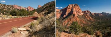 The Kolob Canyons in Zion