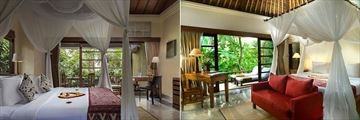 Suite Room and Pool Villa at Komaneka Ubud Monkey Forest