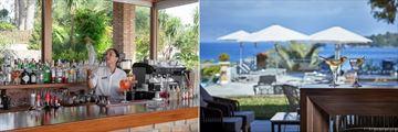 Beach bar and Lobby bar at Kontokali Bay
