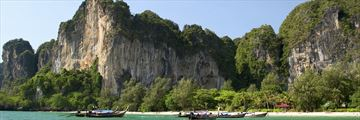 Krabi Thailand Railay Beach and Cliffs