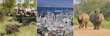 Kruger National Park Safari & Cape Town cityscape