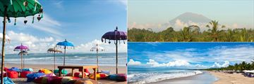 Beaches and Gunung Agung Mountain, Bali