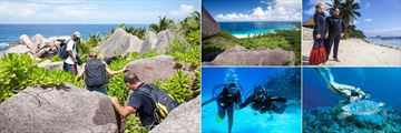La Digue Island Lodge, Activities