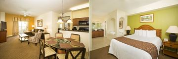 Lake Buena Vista Resort Village & Spa, Suite Living Room and One Bedroom Suite