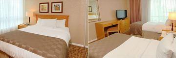 Guestrooms at Landis Hotel & Suites
