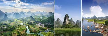 Landscapes of Guilin & The Li River