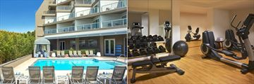 Pool and Fitness Centre at Le Meridien Delfina Santa Monica