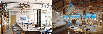 Conlemani Restaurant and Gooshter Beach Club at Le Meridien Lav