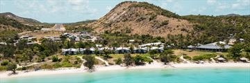 Aerial View of Lizard Island Resort