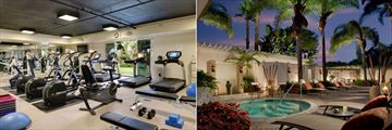 Fitness Centre and Sea Spa Terrace at Loews Coronado Bay