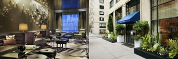 Loews Regency New York, Lobby Lounge and The Regency Bar & Grill Exterior