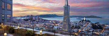 Loews Regency San Francisco, Rooftop City Views