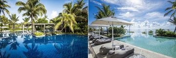 Long Beach Golf & Spa Resort, Pools and Sun Loungers
