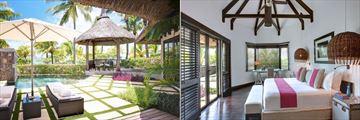 LUX Belle Mare, Beach Front Villa