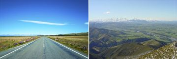 Mackenzie High Country Roads & Canterbury Plains by the Southern Alps