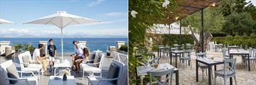 Belvedere Bar and Platea Greek Restaurant at MarBella Corfu