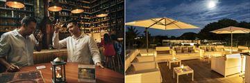Rum Club and Nest Rooftop Bar at Maritim Resort & Spa