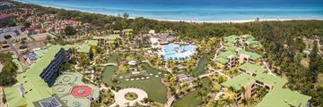 Aerial View of Resort at Melia Las Antillas