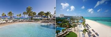 The Pool and Beach at Melia Nassau Beach All Inclusive